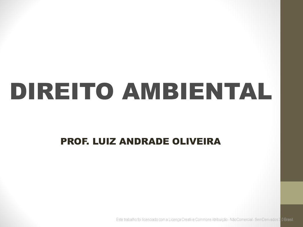 PROF. LUIZ ANDRADE OLIVEIRA