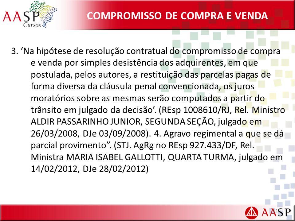 COMPROMISSO DE COMPRA E VENDA