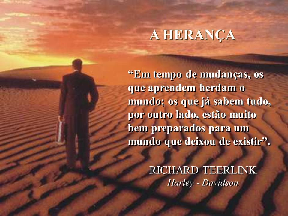 A HERANÇA RICHARD TEERLINK