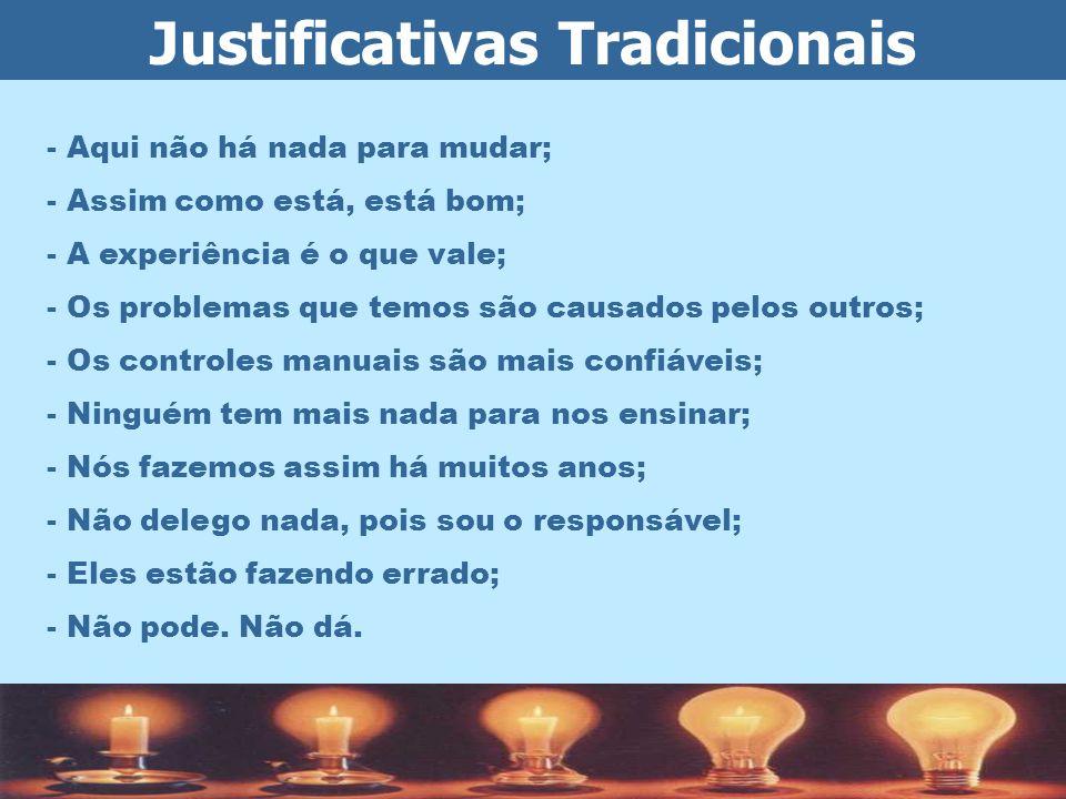 Justificativas Tradicionais