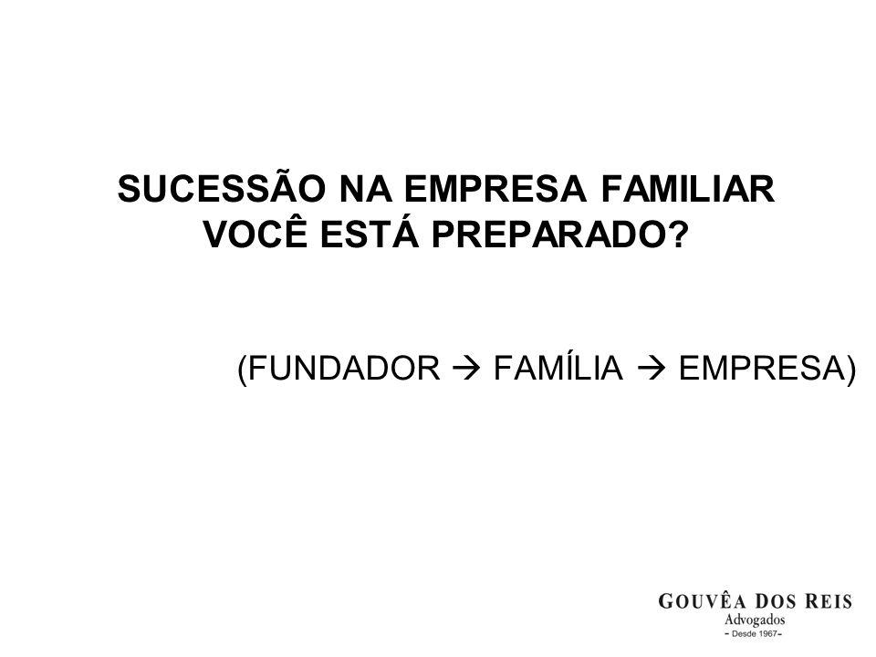 SUCESSÃO NA EMPRESA FAMILIAR VOCÊ ESTÁ PREPARADO
