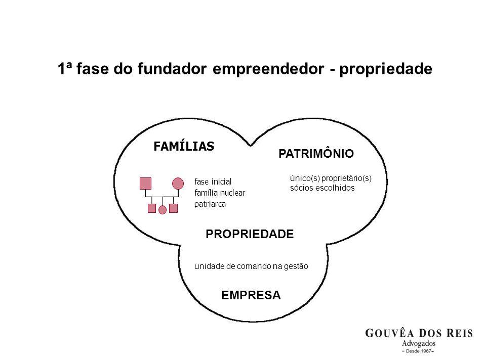 1ª fase do fundador empreendedor - propriedade