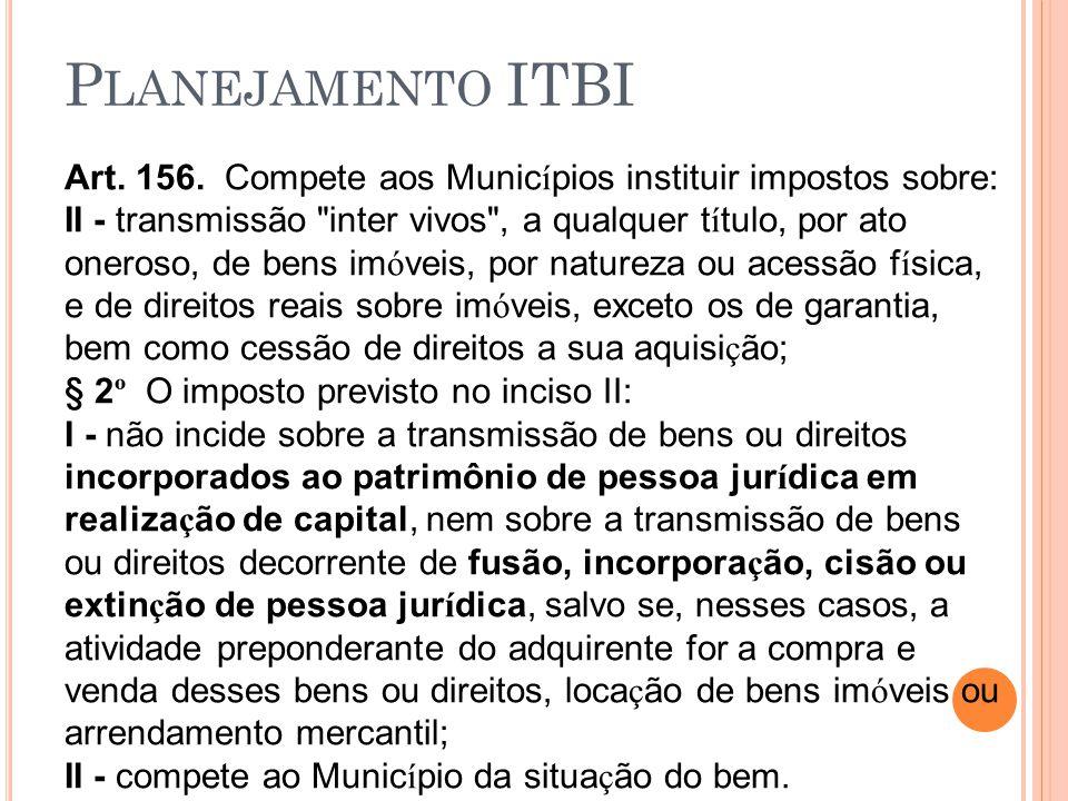 Planejamento ITBI