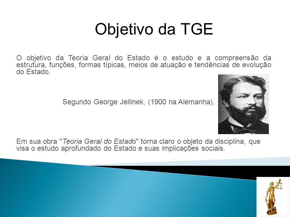 Objetivo da TGE