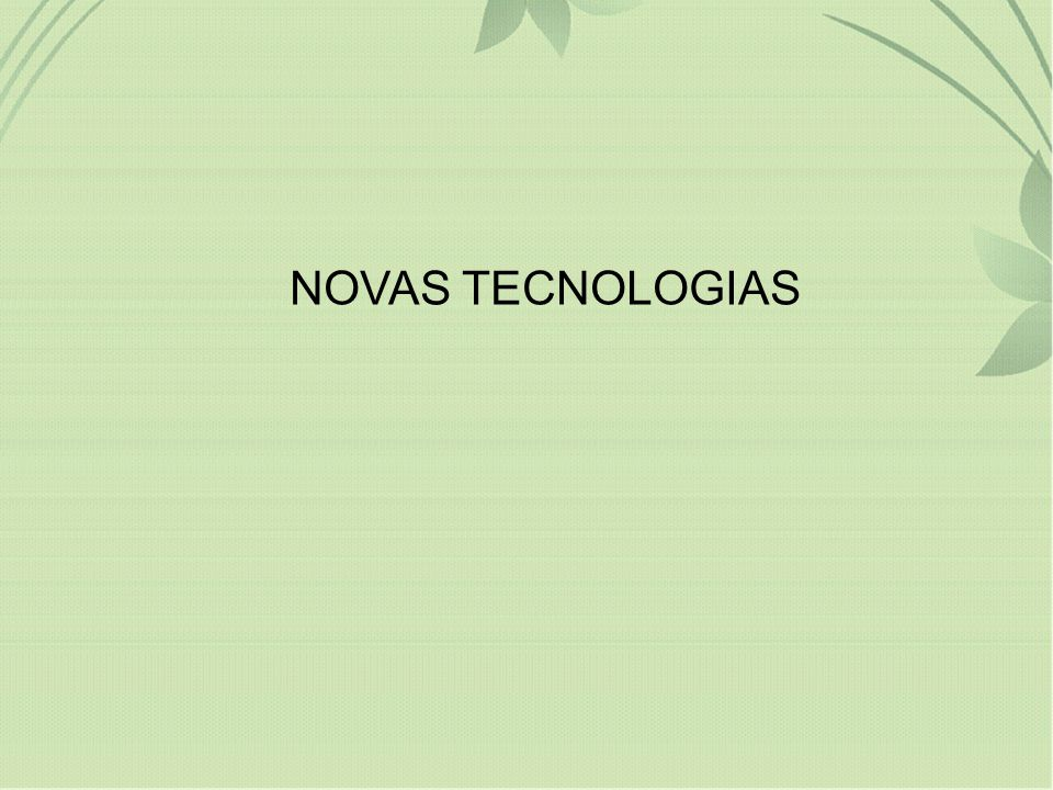 NOVAS TECNOLOGIAS 16
