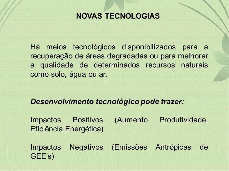 Desenvolvimento tecnológico pode trazer: