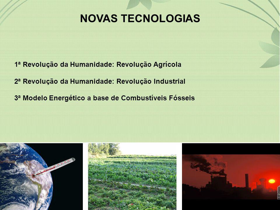 NOVAS TECNOLOGIAS 1ª Revolução da Humanidade: Revolução Agrícola