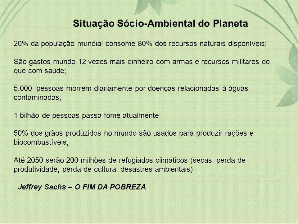Situação Sócio-Ambiental do Planeta