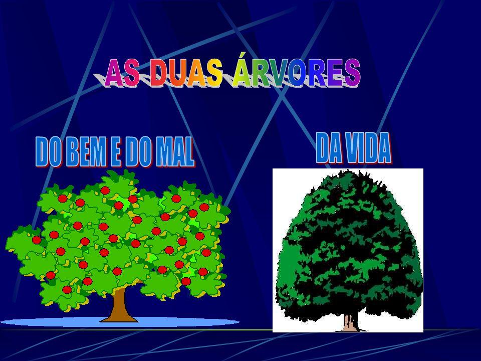 AS DUAS ÁRVORES DA VIDA DO BEM E DO MAL