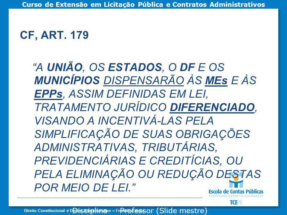 CF, ART. 179