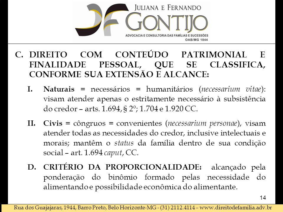 DIREITO COM CONTEÚDO PATRIMONIAL E FINALIDADE PESSOAL, QUE SE CLASSIFICA, CONFORME SUA EXTENSÃO E ALCANCE: