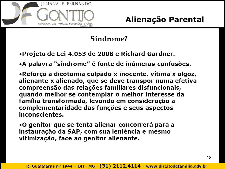 Alienação Parental Síndrome