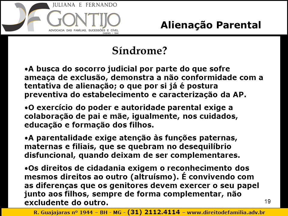 Síndrome Alienação Parental