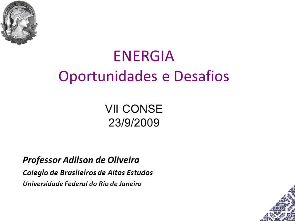 ENERGIA Oportunidades e Desafios