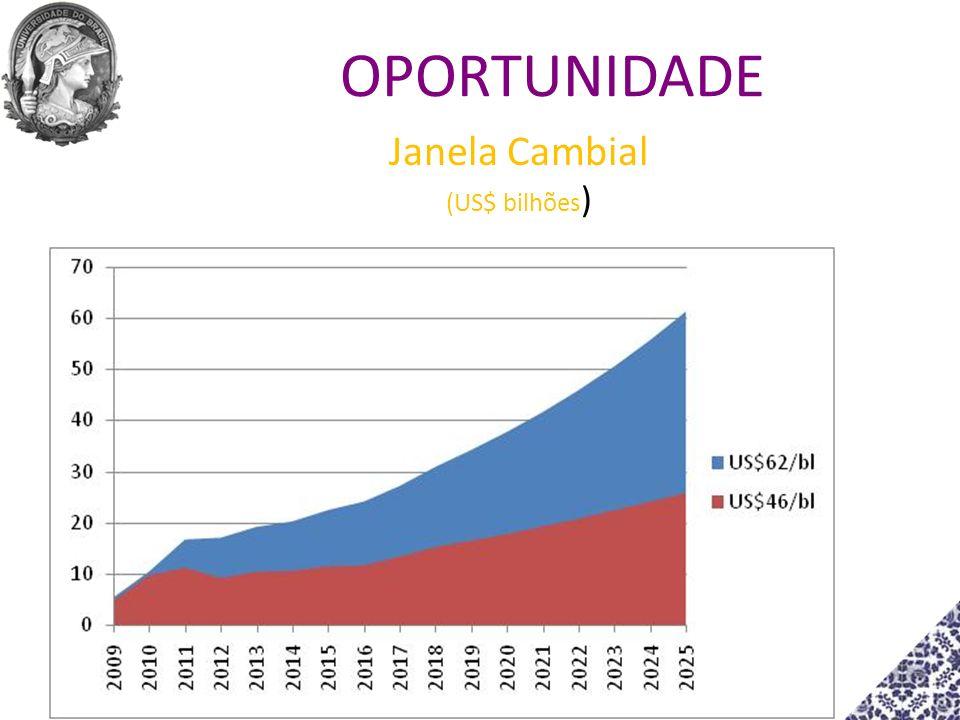 Janela Cambial (US$ bilhões)