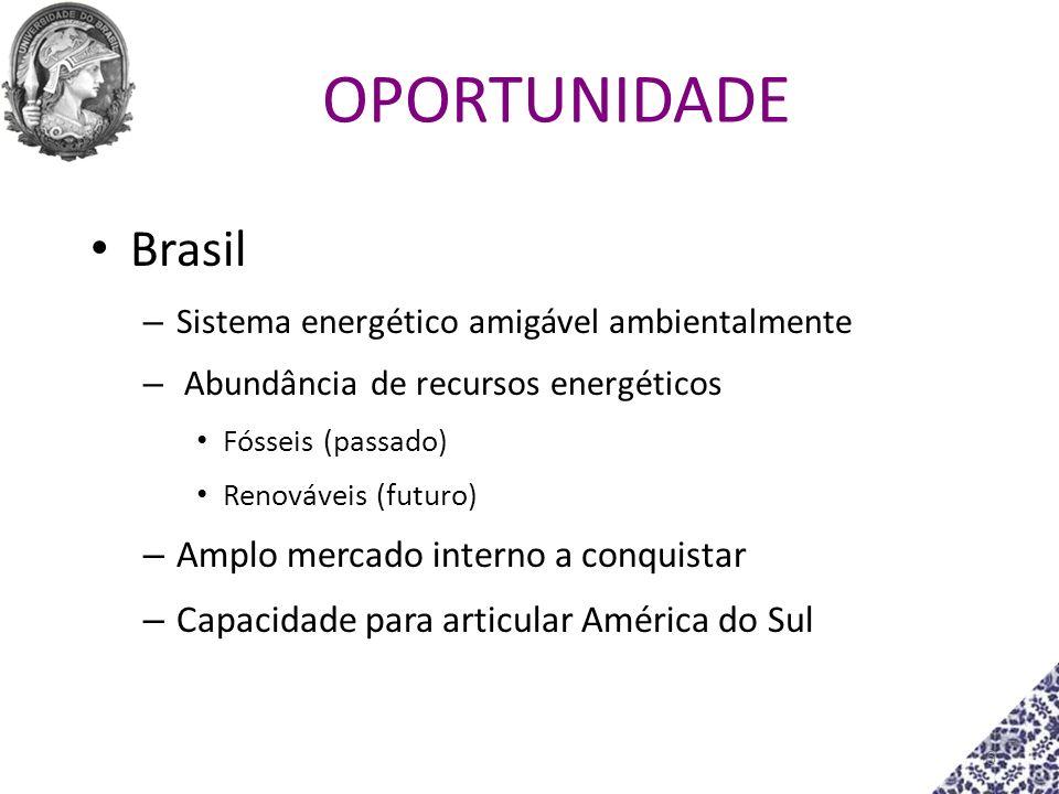 OPORTUNIDADE Brasil Amplo mercado interno a conquistar