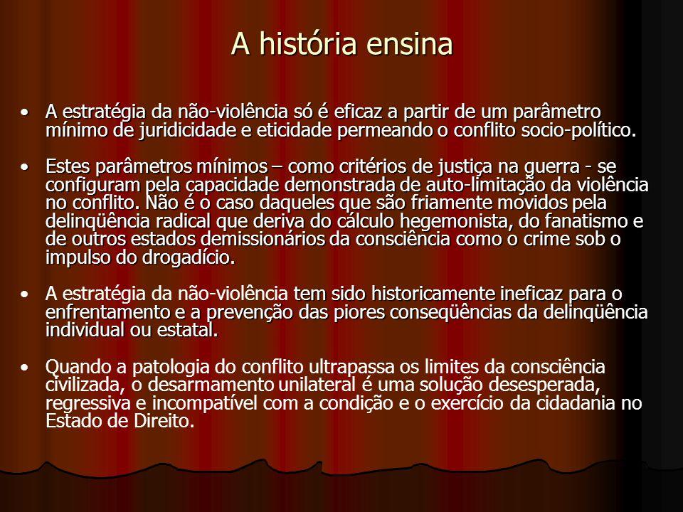 A história ensina