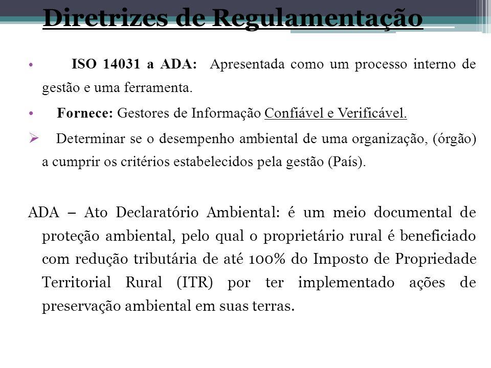 Diretrizes de Regulamentação