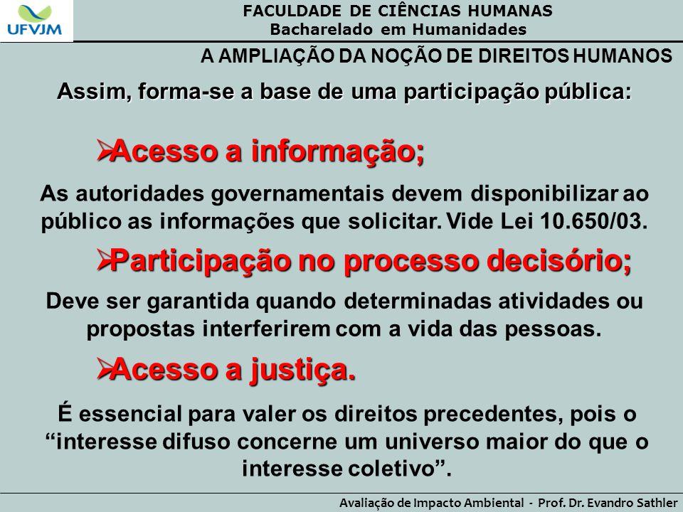 Participação no processo decisório;