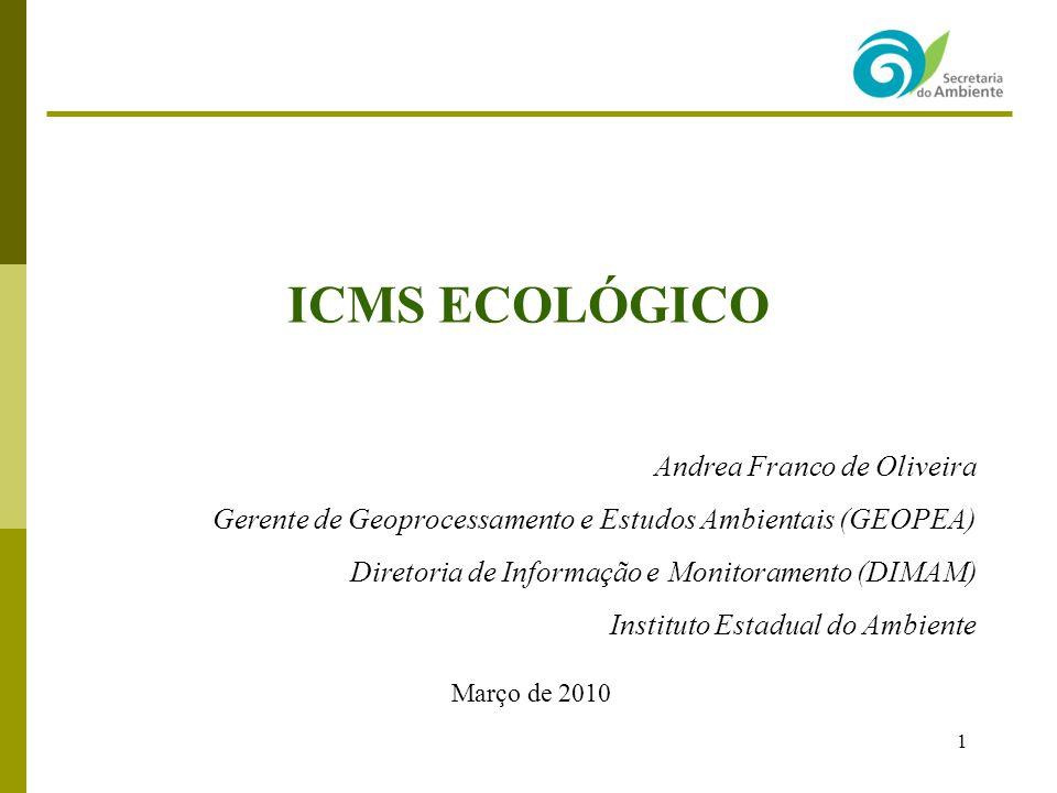 ICMS ECOLÓGICO Andrea Franco de Oliveira