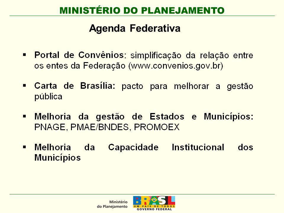 Agenda Federativa