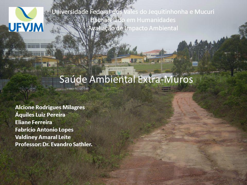 Saúde Ambiental Extra-Muros