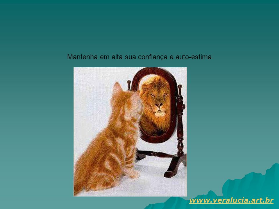Mantenha em alta sua confiança e auto-estima
