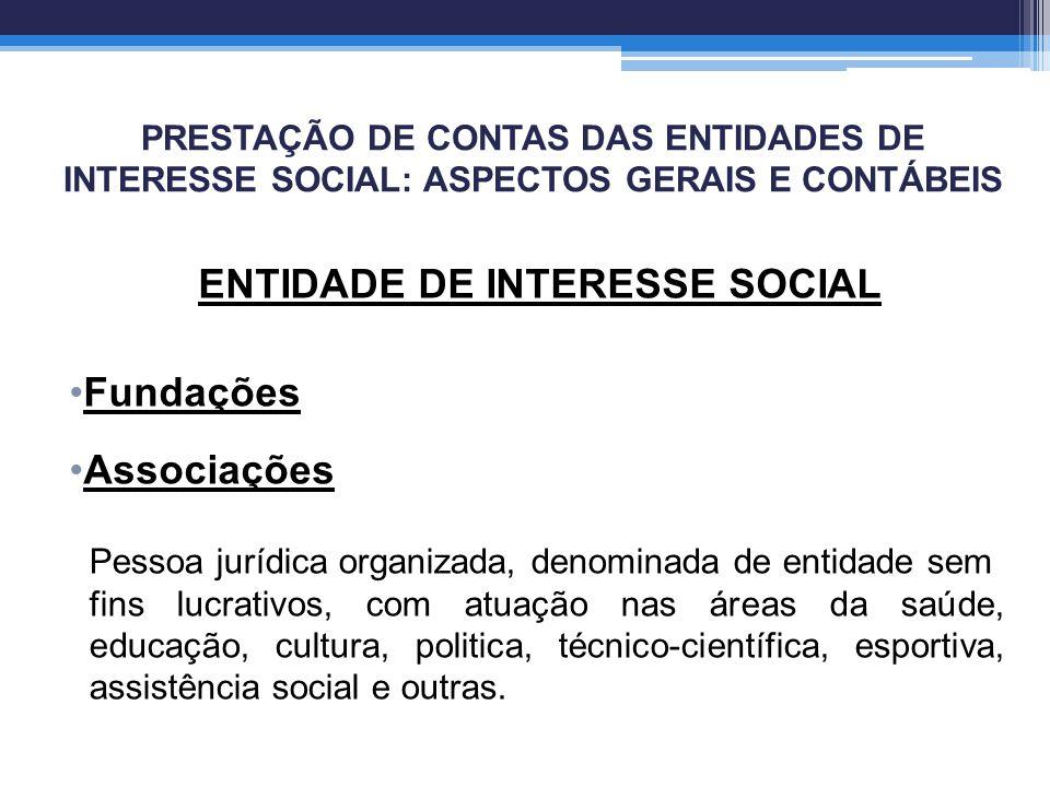 ENTIDADE DE INTERESSE SOCIAL