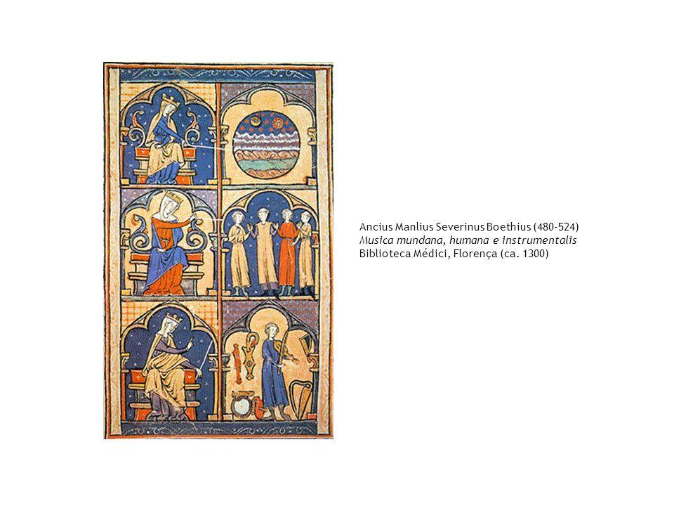 Ancius Manlius Severinus Boethius (480-524)