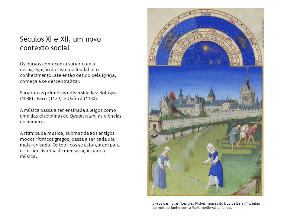 Séculos XI e XII, um novo contexto social