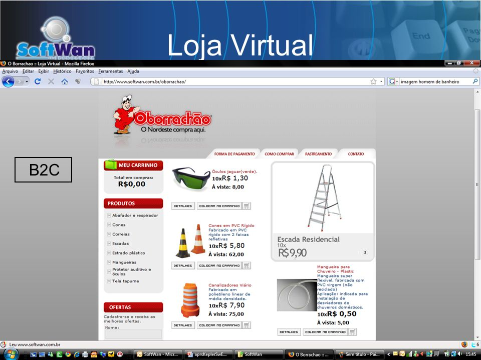 Loja Virtual B2C