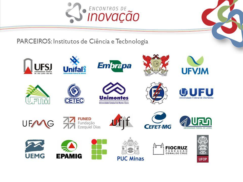 PARCEIROS: Institutos de Ciência e Tecbnologia