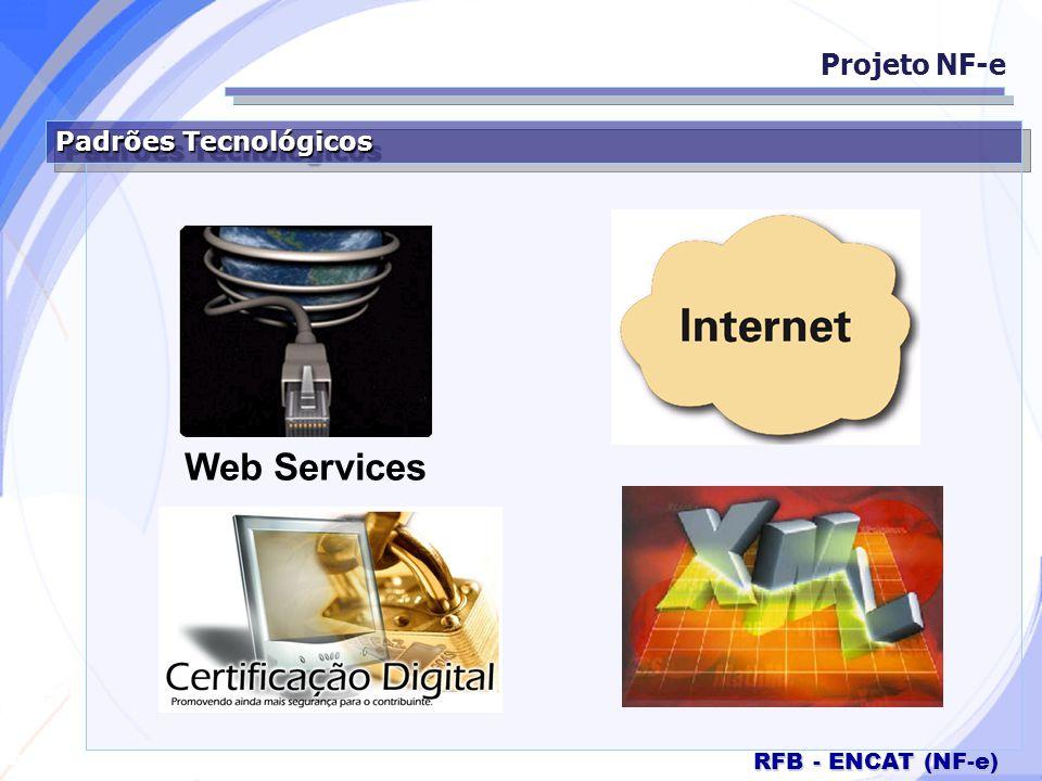 Projeto NF-e Padrões Tecnológicos Web Services