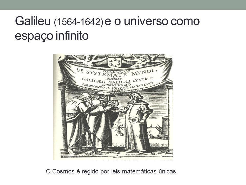 Galileu (1564-1642) e o universo como espaço infinito