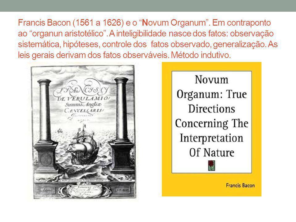 Francis Bacon (1561 a 1626) e o Novum Organum