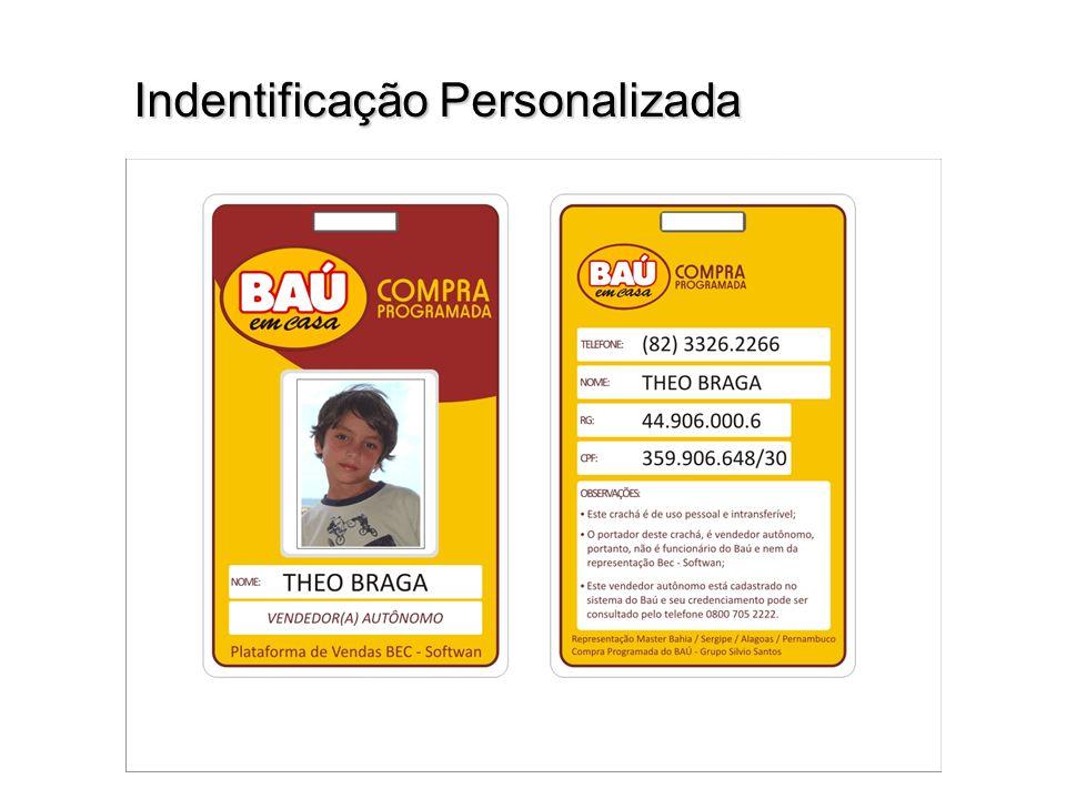 Indentificação Personalizada