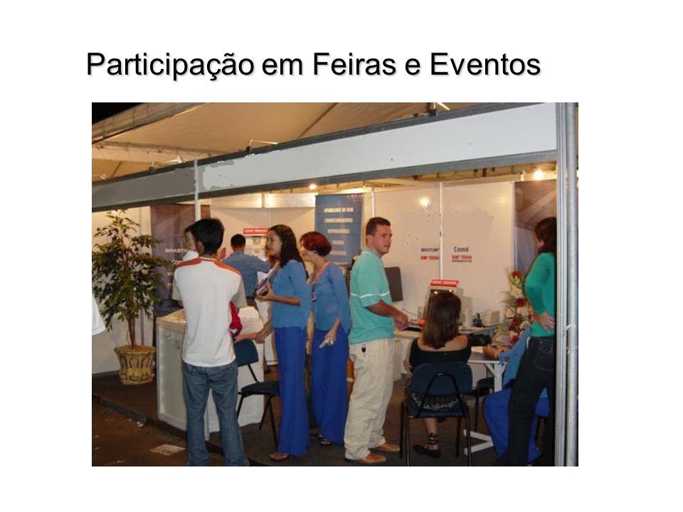 Participação em Feiras e Eventos