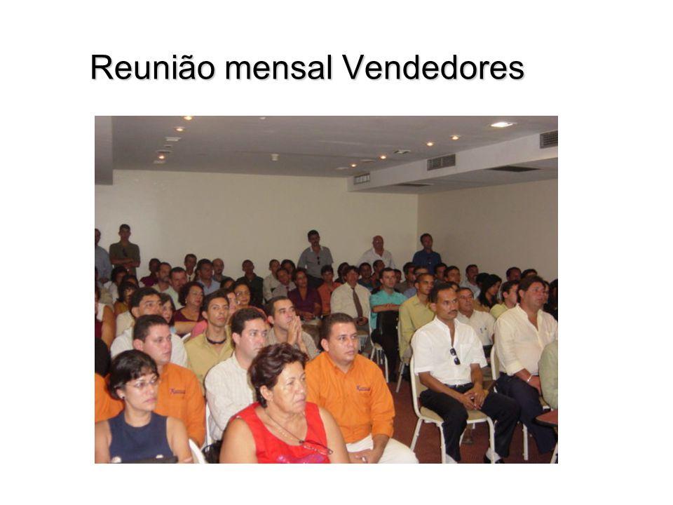 Reunião mensal Vendedores