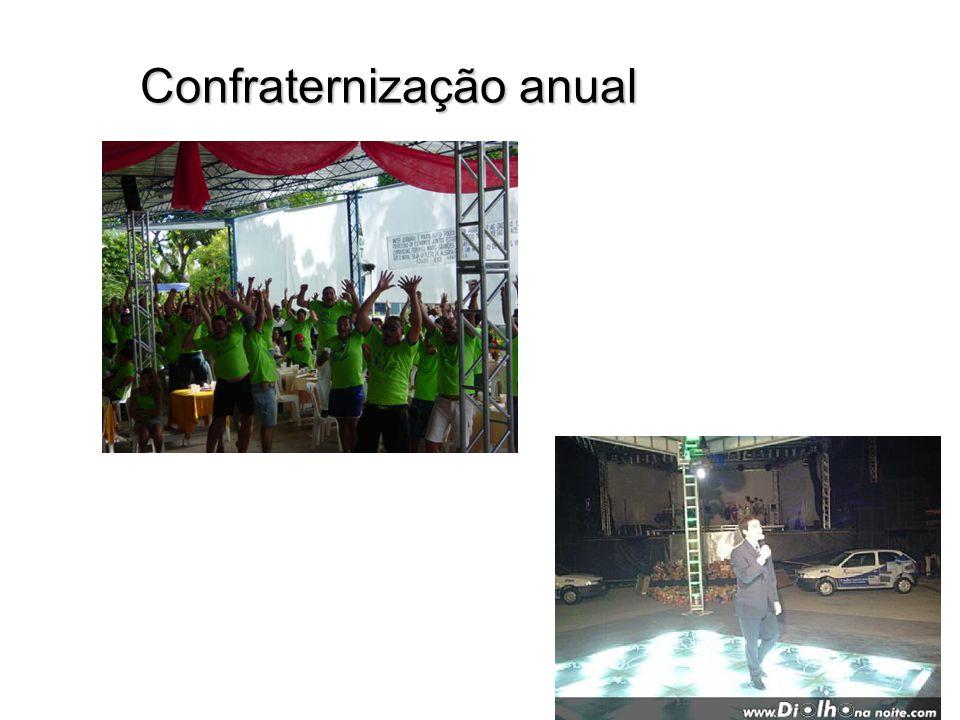 Confraternização anual