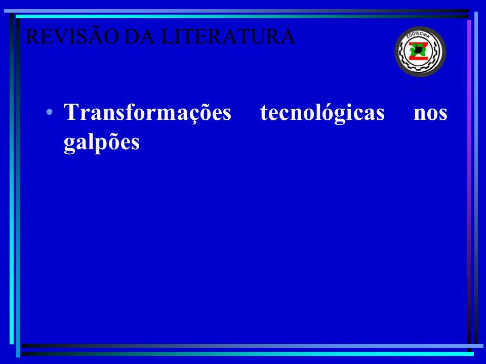Transformações tecnológicas nos galpões