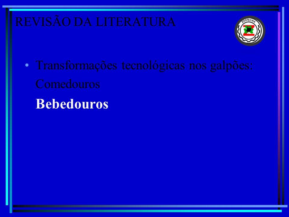 Bebedouros REVISÃO DA LITERATURA
