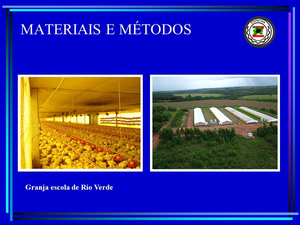 MATERIAIS E MÉTODOS Granja escola de Rio Verde