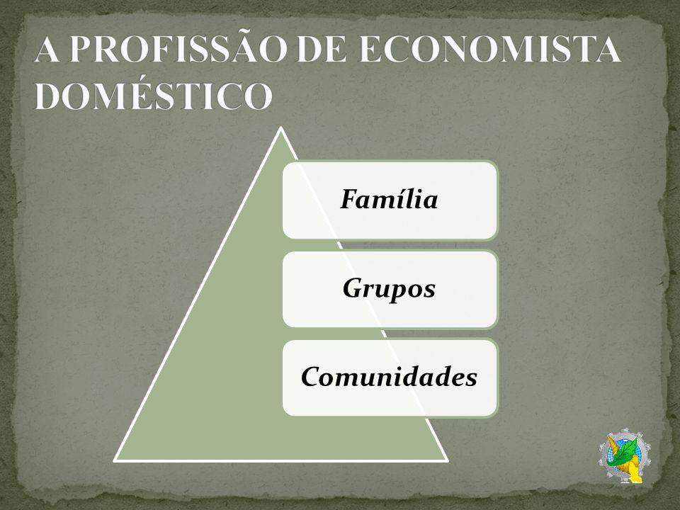 A PROFISSÃO DE ECONOMISTA DOMÉSTICO