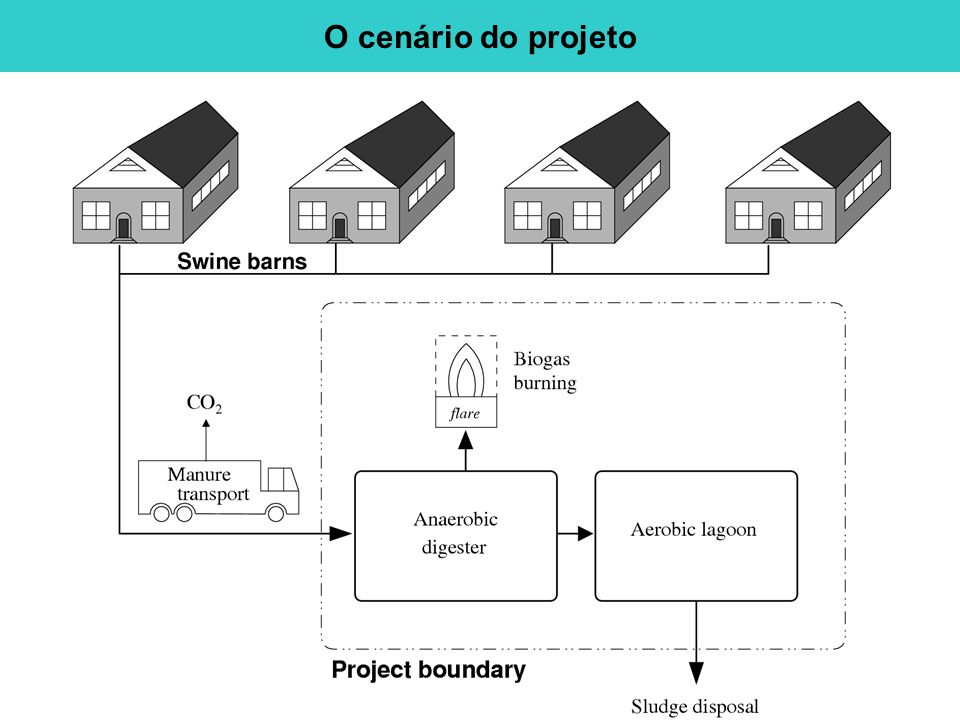 O cenário do projeto