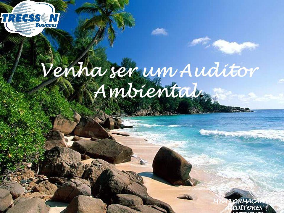 Venha ser um Auditor Ambiental. MBA FORMAÇÃO DE AUDITORES AMBIENTAIS