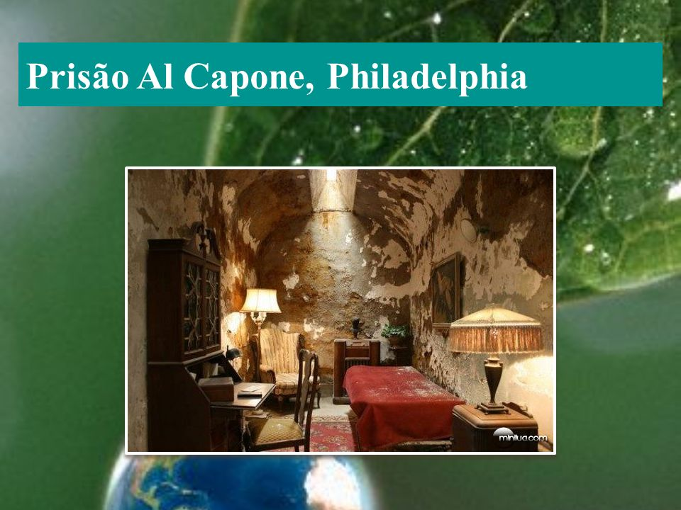 Prisão Al Capone, Philadelphia