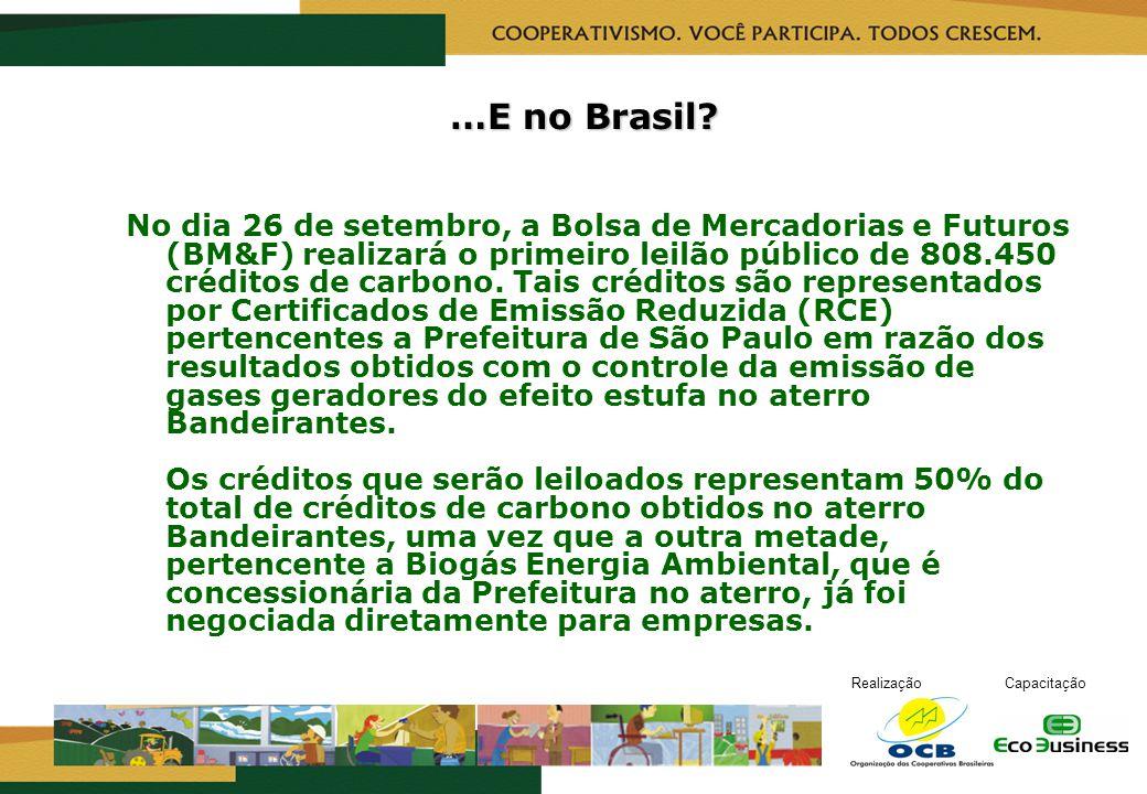 …E no Brasil