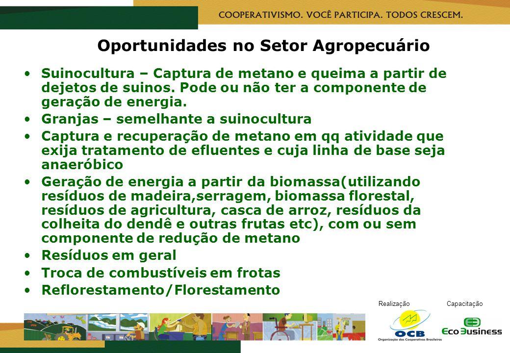 Oportunidades no Setor Agropecuário