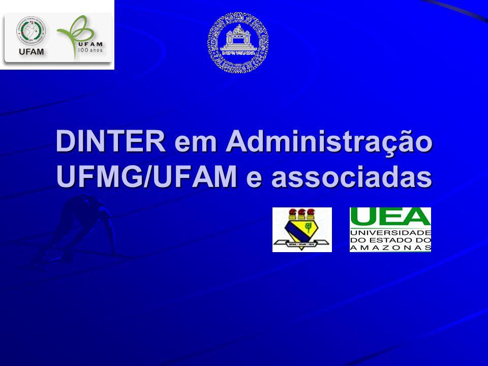 DINTER em Administração UFMG/UFAM e associadas