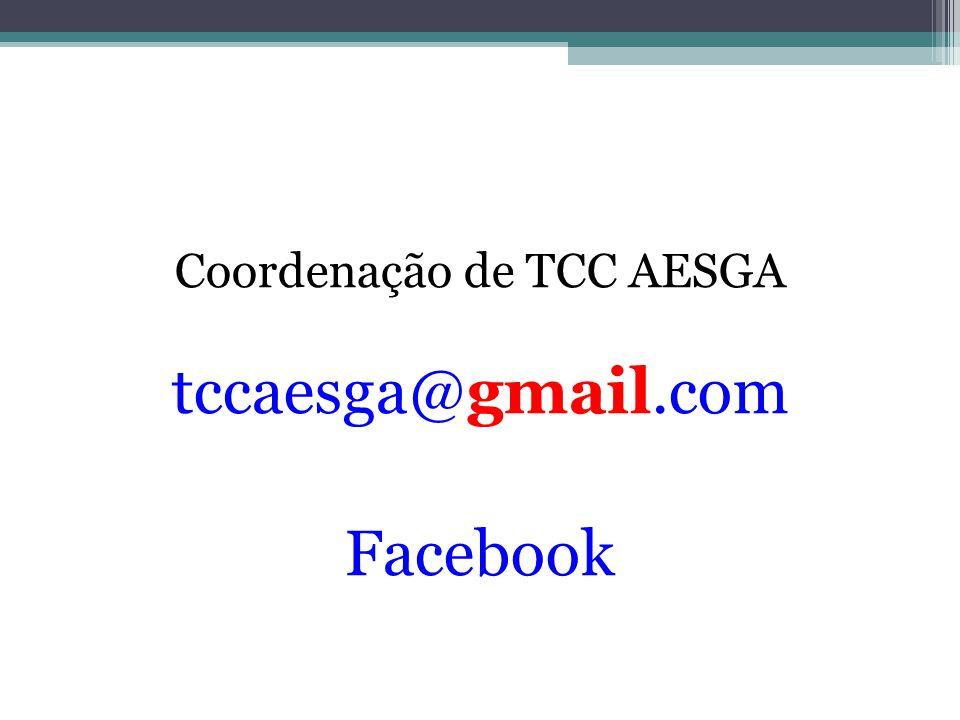 Coordenação de TCC AESGA